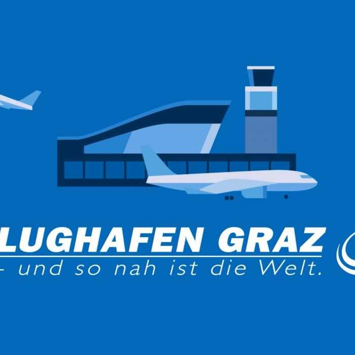 Flughafen Graz Animation